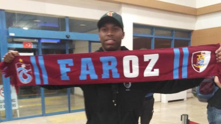 Trabzonspor'un yeni transferi Sturridge, Trabzon'da