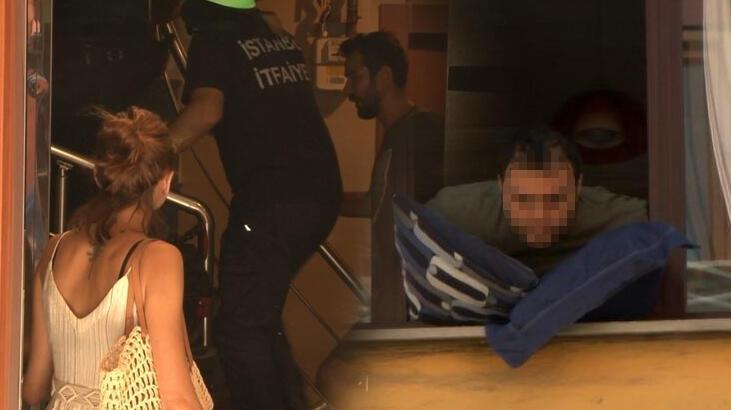 İstanbul'da intihar girişimi ekipleri alarma geçirdi