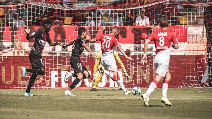 Monaco skoru koruyamadı! Slimani-Onyekuru işbirliği..