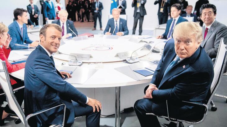 G7 Zirvesi'nde Zarif sürprizi