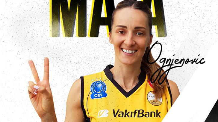 Maja Ognjenovic, VakıfBank'a transfer oldu