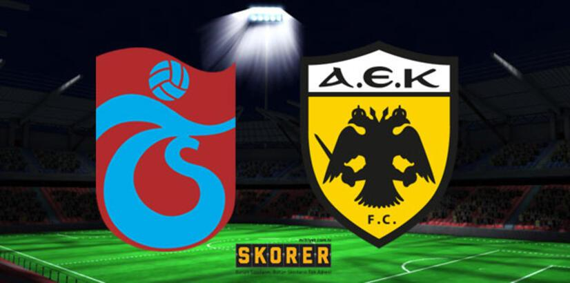 Trabzonspor-AEK play-off rövanş maçı ne zaman saat kaçta hangi kanalda?