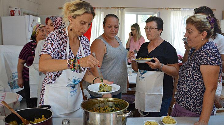 Zeynep Casalini mutfakta