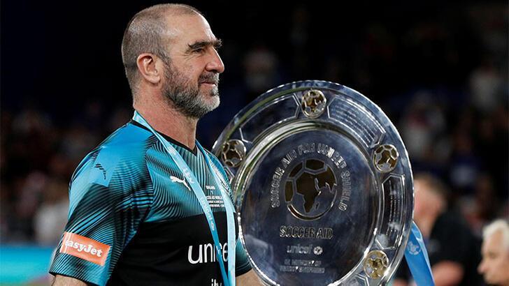 UEFA'dan Eric Cantona'ya ödül