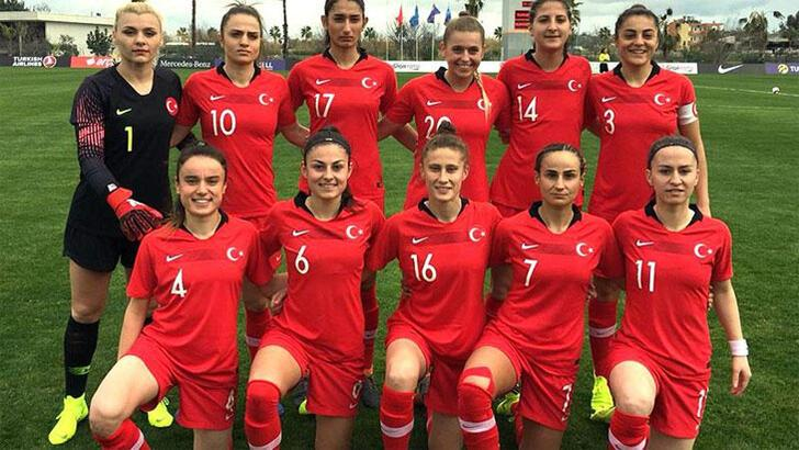 Kadın A Milli Futbol Takımı, Kosova'ya gitti