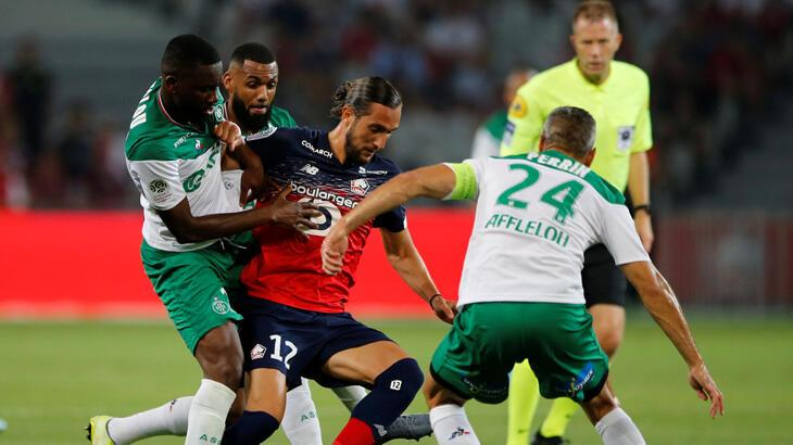 Lille - Saint-Etienne: 3-0