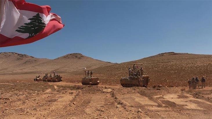 Lübnan ordusu İsrail'in İHA'sına ateş açtı!
