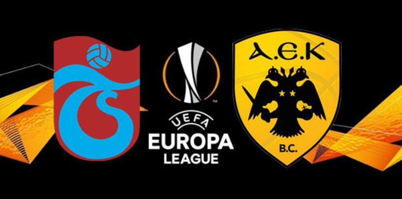 Trabzonspor- AEK play-off rövanş maçı bu akşam saat kaçta hangi kanalda?