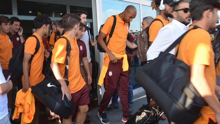 Galatasaray kafilesi Kayseri'de! Falcao detayı...