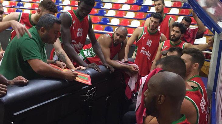 Pınar Karşıyaka ilk maçta mağlup