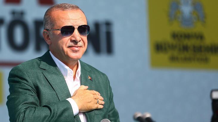 Cumhurbaşkanı Erdoğan Konya'da müjdeleri sıraladı: Yapımına başlıyoruz