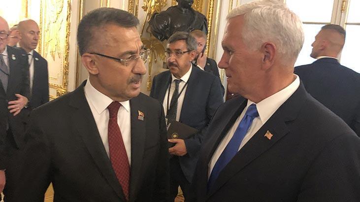 Cumhurbaşkanı Yardımcısı Oktay Varşova'da Pence ile görüştü