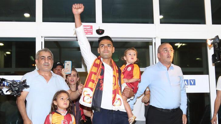 Falcao, Galatasaray'ın 6. Kolombiyalı oyuncusu