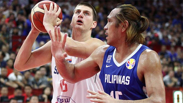 Sırbistan'dan Filipinler'e 59 sayı fark