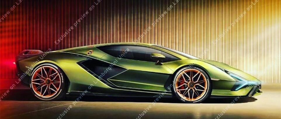 İlk elektrikli Lamborghini ile ilgili bilgiler sızdı!