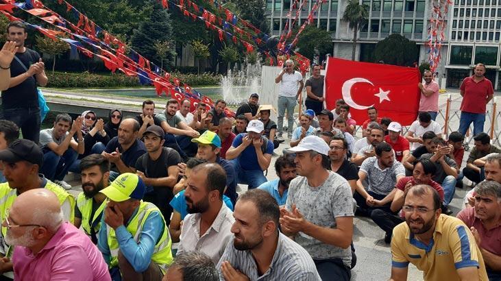 Şenocak, İBB'den çıkartılan işçilerle ilgili açıklama yaptı