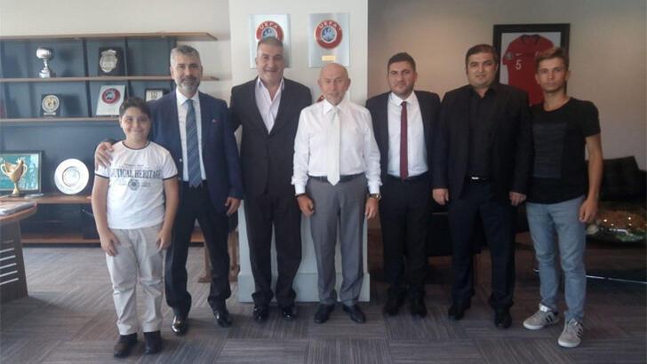 TFF Başkanı Nihat Özdemir, Zonguldak Ereğlispor'u ağırladı