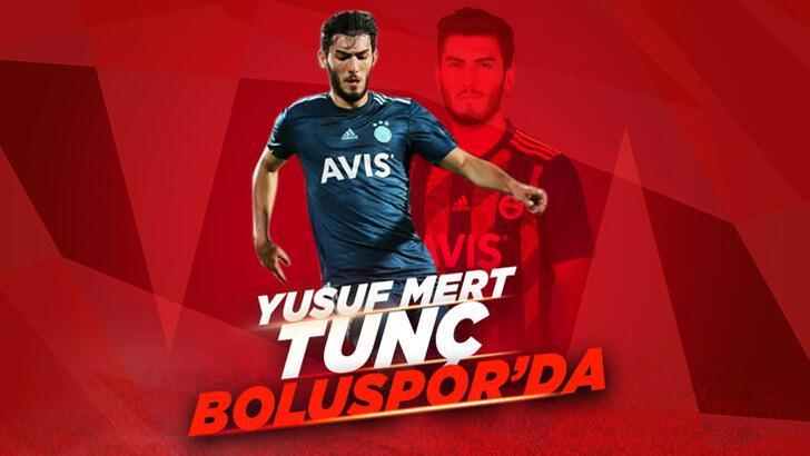 Fenerbahçeli Yusuf Mert, Boluspor'a transfer oldu!