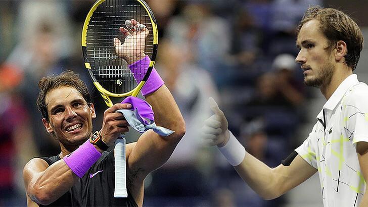ABD Açık'ta finalin adı: Nadal-Medvedev