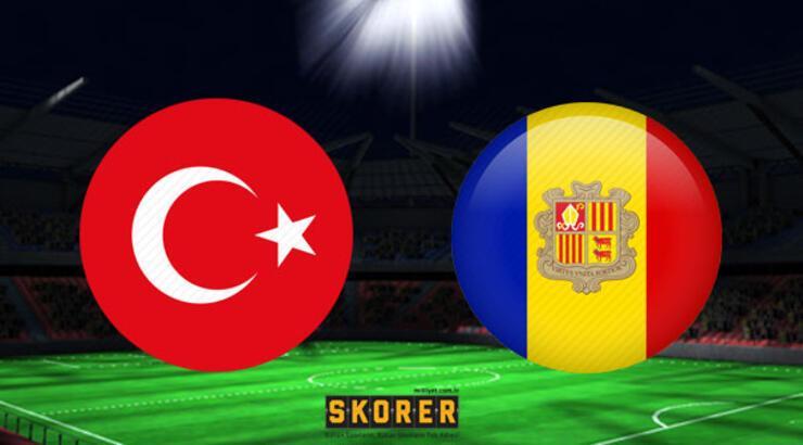 Türkiye - Andorra maçı saat kaçta hangi kanalda?