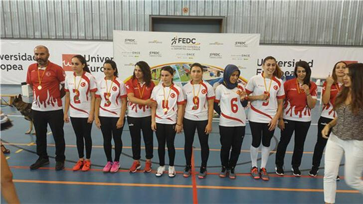Goalball Kadın Milli Takımı, İspanya'da şampiyon