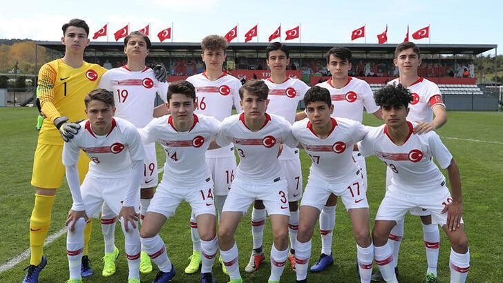 16 Yaş Altı Milli Futbol Takımı'nın kadrosu açıklandı