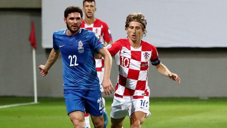 Gecenin sürprizi Azerbaycan'dan! Hırvatistan ile...