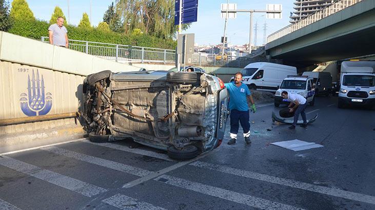 """Avcılar'daki kazada """"fıskiye"""" iddiası"""