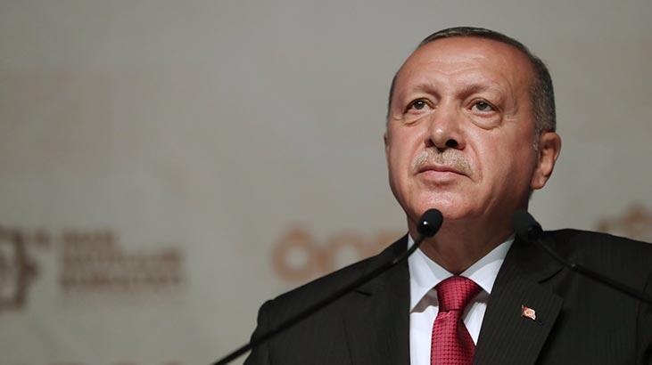 Cumhurbaşkanı Recep Tayyip Erdoğan'dan şehit ailelerine başsağlığı