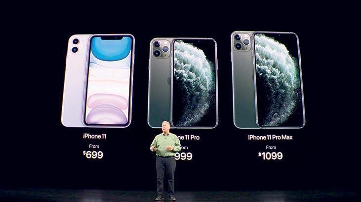 Üç iPhone 11, gelişmiş  kamerayla geldi