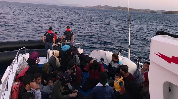 İzmir'de 181 kaçak göçmen yakalandı