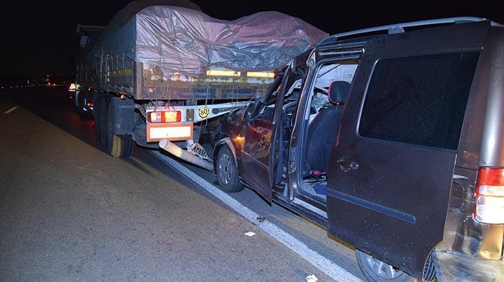 Konya'da feci kaza: 1 kişi hayatını kaybetti