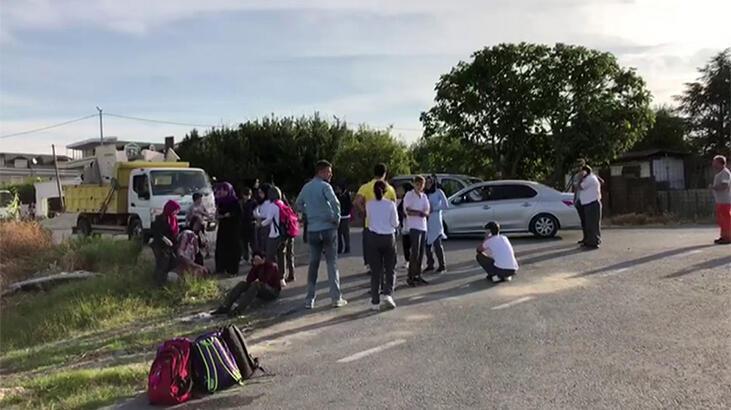 İstanbul'da okul servis aracı takla attı! Yaralılar var