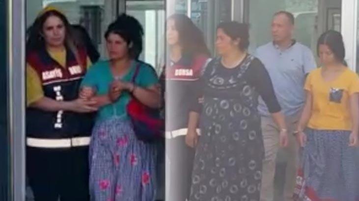 3 kadın hırsız 70 bin liralık altın çaldı!