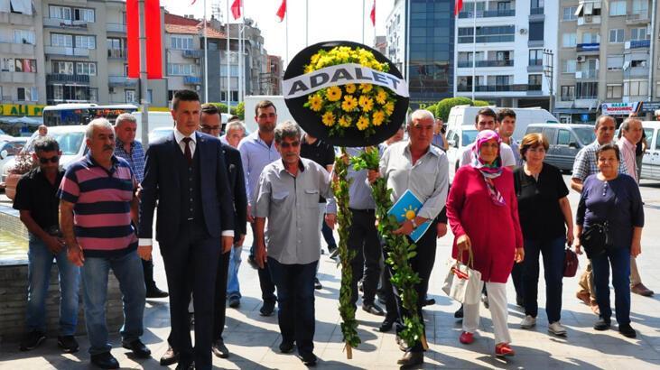 İYİ Parti'den CHP'ye siyah çelenk