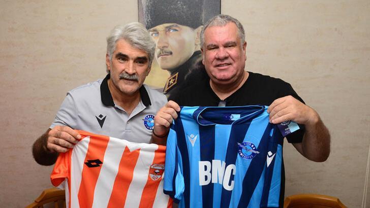 Adana derbisi öncesi iki takımın teknik direktörleri buluştu