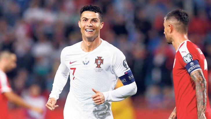 Ronaldo'nun hedefi Pele