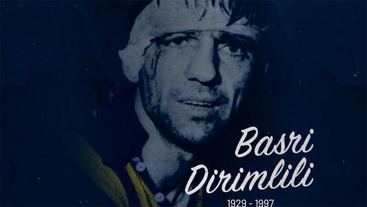 Fenerbahçe Kulübü, eski futbolcusu Basri Dirimlili'yi andı