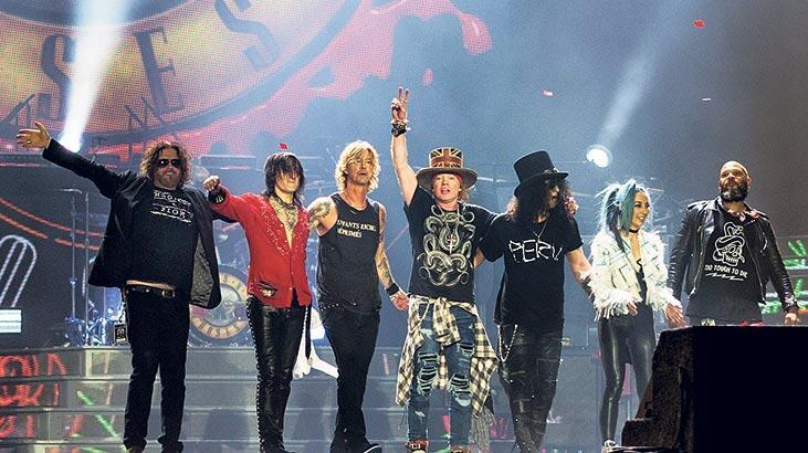 Guns N' Roses'dan albüm hazırlığı