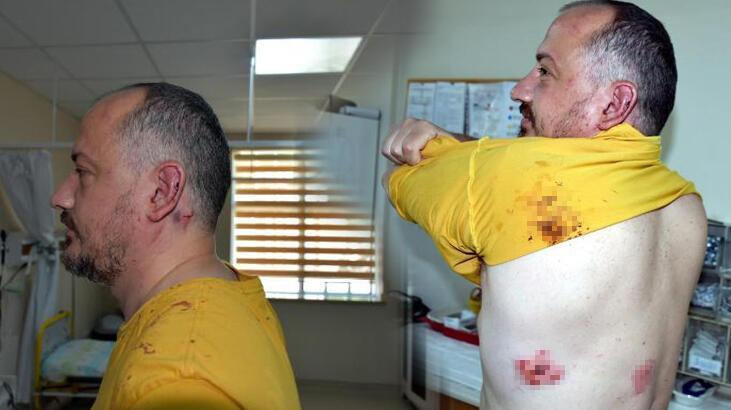 Gezgin Fatih Koparan'a dükkanının önünde sopalı saldırı