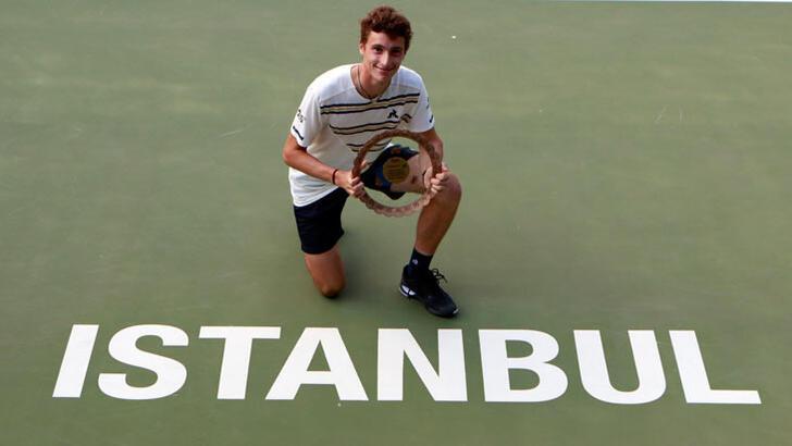 İstanbul Challenger'da zafer Humbert'in