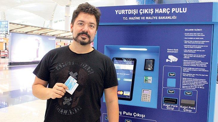 İstanbul Havalimanı'na  harç pulu otomatı geldi
