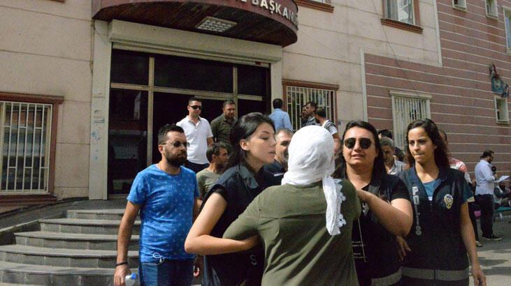 HDP önündeki eylemin 14'üncü gününde gerginlik!