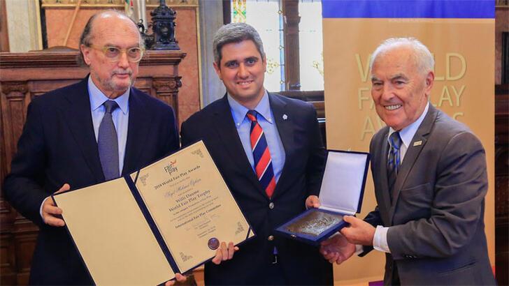 Avrupa Fair Play Birliği'nden Türkiye'ye 4 ödül