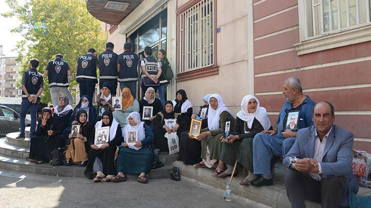 HDP önündeki eylemde 15'inci gün; aile sayısı 36 oldu