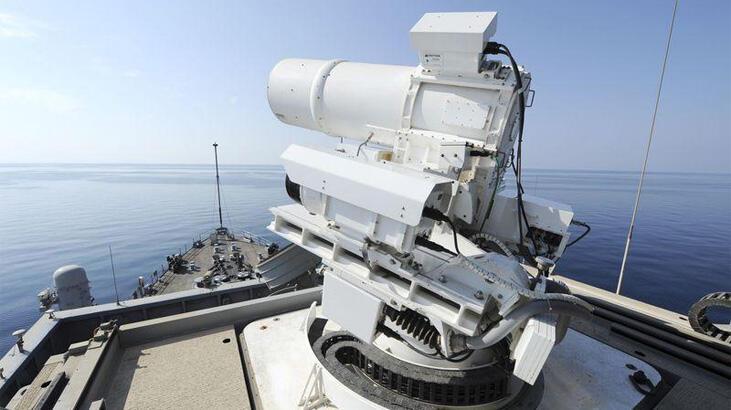 Güney Kore'den lazer silahı atağı