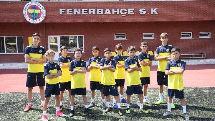 Fenerbahçe altyapıya katılan yeni oyuncularını tanıttı