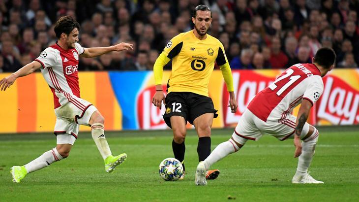Ajax-Lille: 3-0