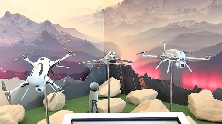 """Yerli milli kamikaze drone """"KARGU"""" savaşa hazır halde"""