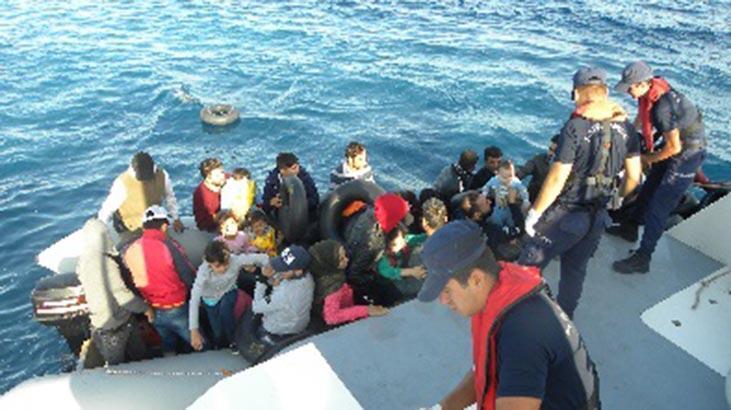 İzmir'de 234 düzensiz göçmen yakalandı